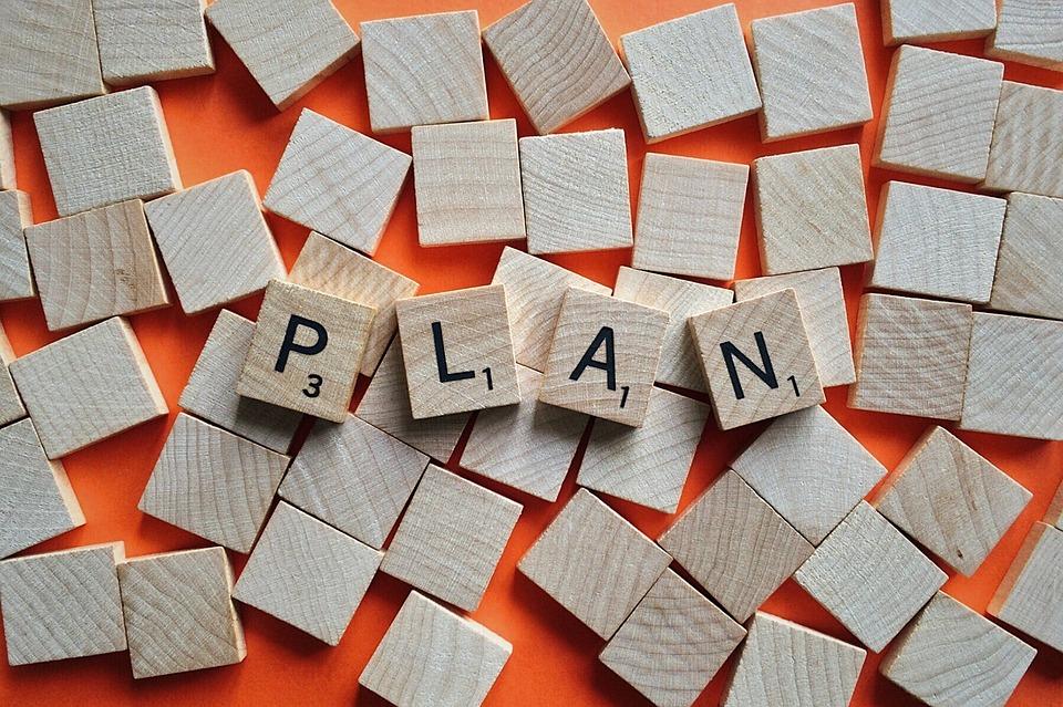 как составить план