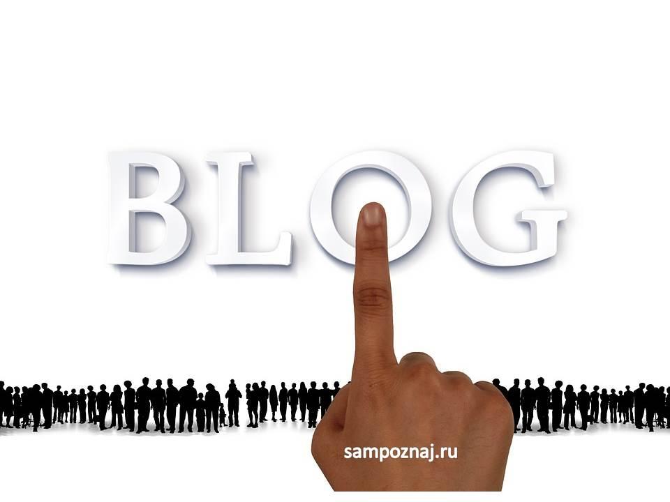я веду блог